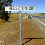 Cheese Tin Creek - Great Northern Highway near Wyndham
