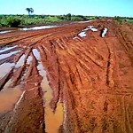 Tanami Track, the road from Halls Creek to Alice Springs