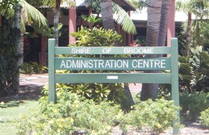Broome shire office